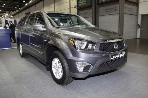 Ssangyong Actyon Sport.