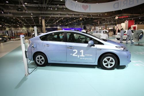 Toota Prius Plug-in-Hybrid.