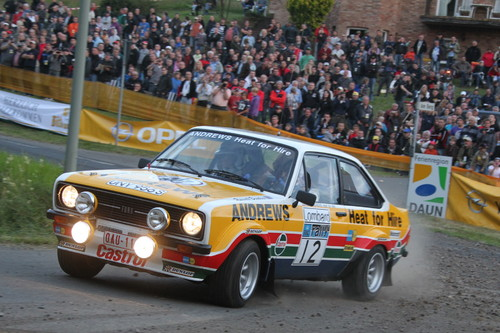 """""""ADAC Eifel Rallye Festival"""": Ford Escort."""
