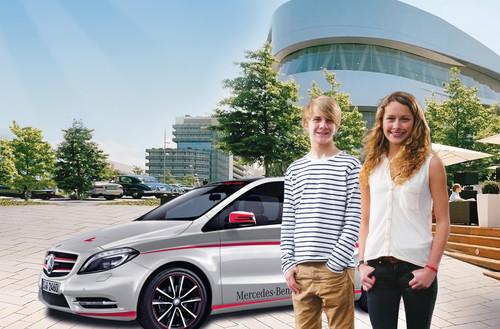 Vom 31.Juli bis 10. August 2012 findet im Mercedes-Benz Museum das interaktive Verkehrstrainingsprogramm RoadSense für Jugendliche statt.