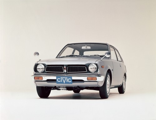 Honda Civic (1972).