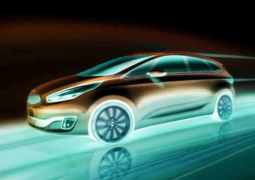 Kia Carens (Rendering).