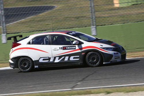 Honda Civic WTCC.