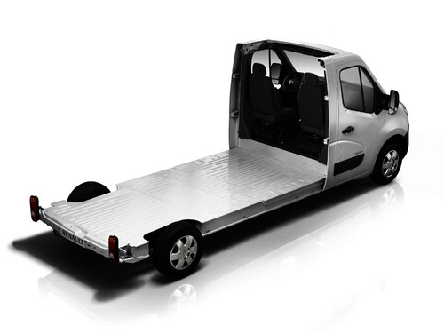 Renault Master: Fahrgestell.
