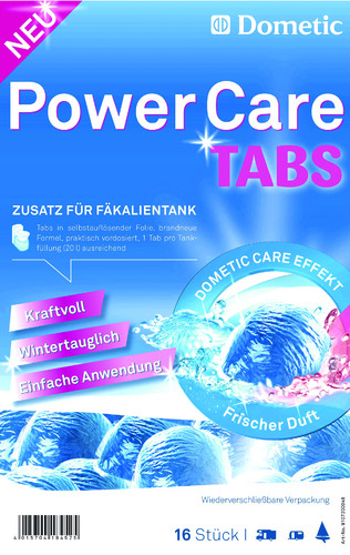 Dometic Power Care Tabs.