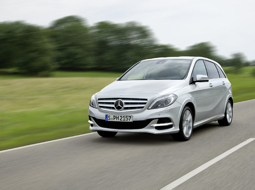 Mercedes-Benz B 200 Natural Gas Drive.