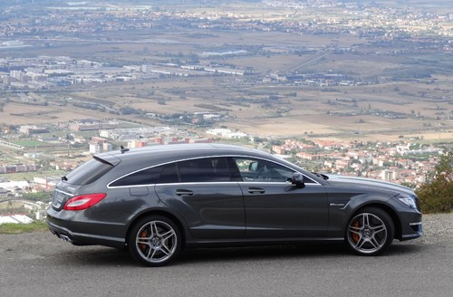 Mercedes-Benz CLS 63 AMG Shooting Brake.