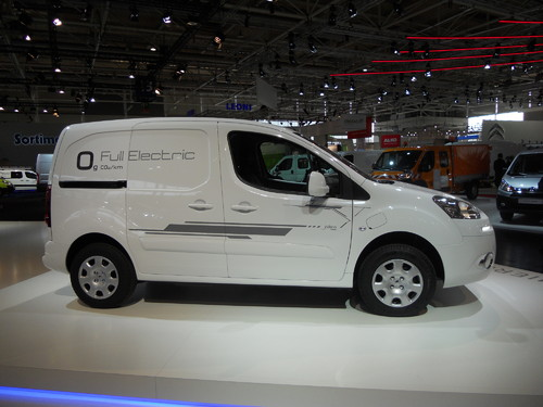 Peugeot Partner Electric.