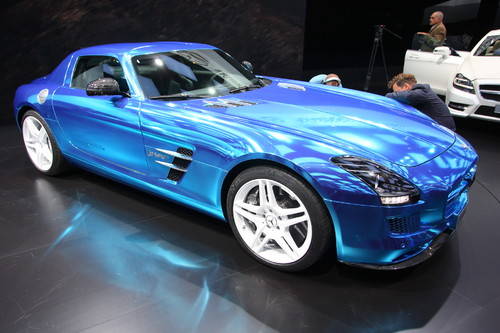 Mercedes.Benz SLS AMG Electric Drive.