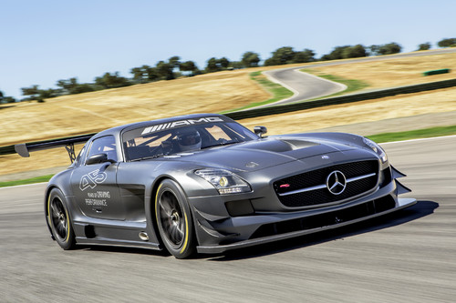 "Mercedes-Benz SLS AMG GT3 ""45th Anniversary""."