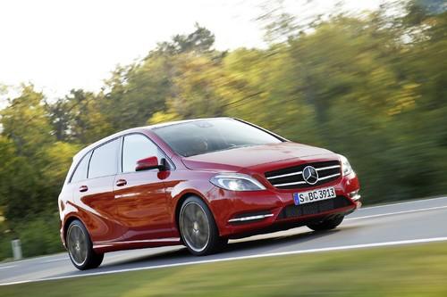 Mercedes-Benz B 180 CDI.
