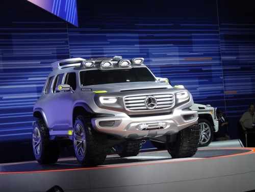 Mercedes-Benz Design-Studie: Ener-G-Force.
