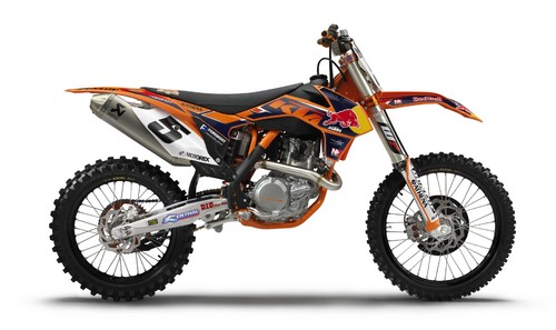 KTM 450 SX-F Factory Edition.