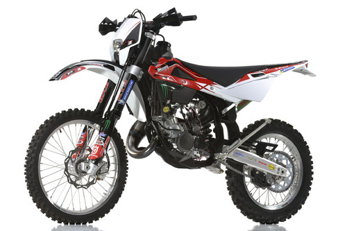 Husqvarna WR 125 mit Racing-Kit.