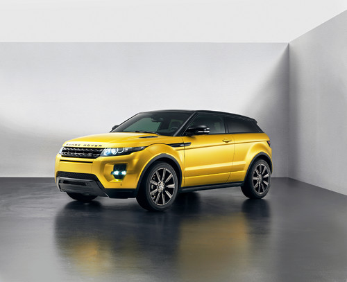 Range Rover Evoque Yellow Edition.