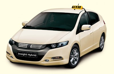 Honda Insight Civic Hybrid als Taxi.