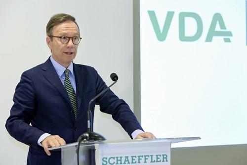 Matthias Wissmann, Präsident des Verbandes der Automobilindustrie (VDA).