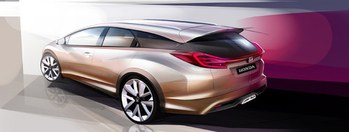 Honda Civic Wagon Concept.