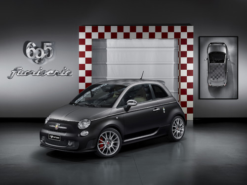 "Fiat 500 Abarth 695 ""Black Diamond""."