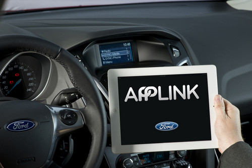 Ford Sync App-Link mit I-Pad.