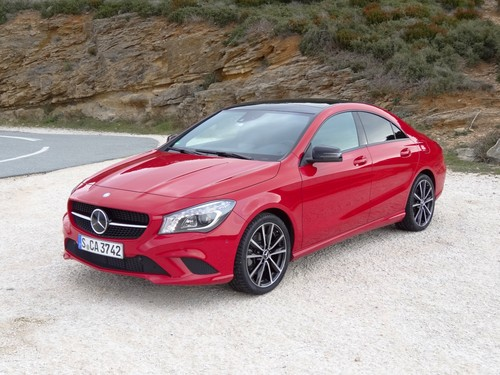 Mercedes-Benz CLA 250.