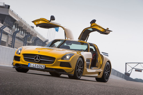 Mercedes-Benz SLS AMG Coupé Black Series.