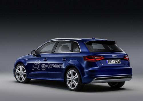 Audi A3 Sportback G-Tron.