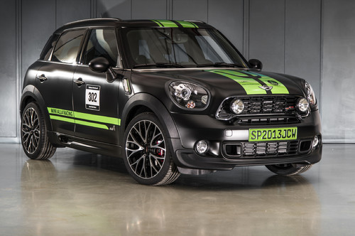 Mini John Cooper Works Countryman All4 Dakar Winner 2013.