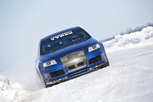 "Nokian Tyres ""Fastest on Ice""."