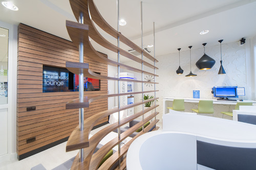 Business-Lounge von Regus.
