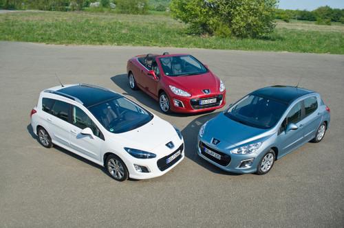 Peugeot 308, 308 SW und 308 CC.