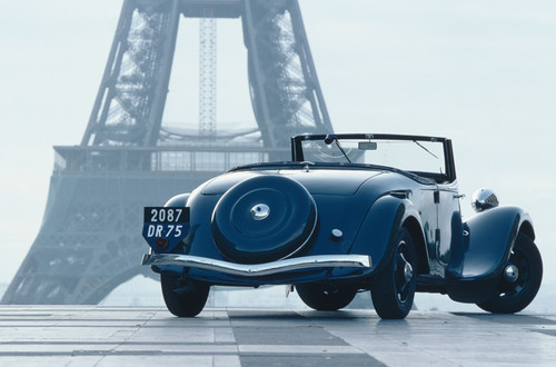 Citroën Traction Avant Cabriolet.