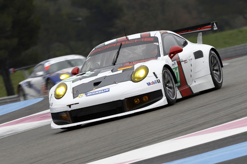 Porsche 911 RSR des Teams Manthey.