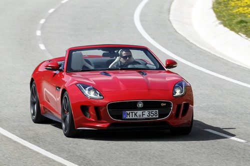 Jaguar F-Type V8 S.