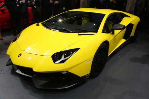 """Lamborghini Aventador LP 720-4 """"50° Anniversario""""."""