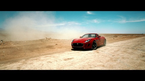 "Jaguar F-Type in ""Desire""."