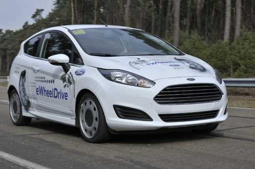 Ford Fiesta E-Wheel-Drive.
