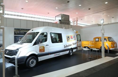 volkswagen crafter f r tischler und schreiner auto medienportal net. Black Bedroom Furniture Sets. Home Design Ideas