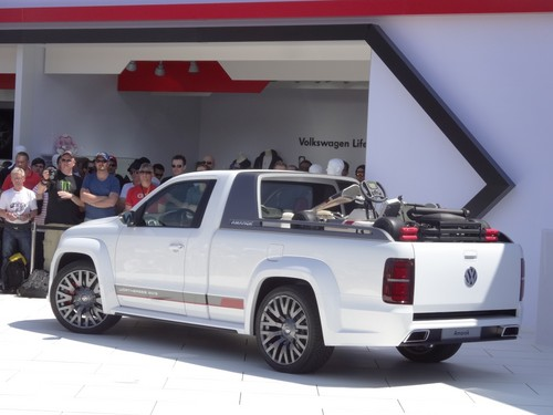 GTI-Treffen 2013: Volkswagen Amarok Power Pick-up.