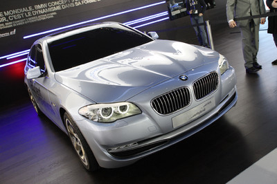 BMW Concept 5 Series Active Hybrid.
