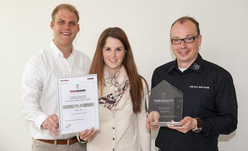 Das Team von der Essen Motor Show: Marcel Gockeln, Carolyn Tepel, Dr. Martin Uhlendorf.