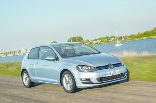 VW Golf TDI Blue Motion.