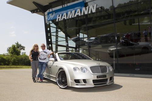 Die Geissens holen ihren Bentley Continental GTC bei Hamann Motorsport ab.