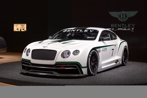 Bentley Continental GT3.