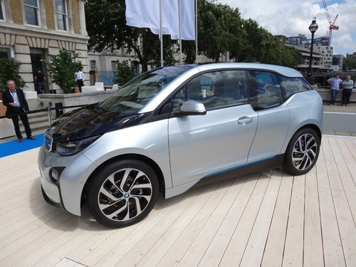 Premiere in London, New York: BMW i3.