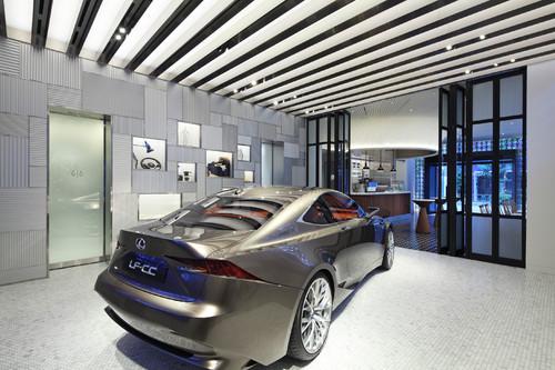 Marken-Erlebniswelt von Lexus in Tokio.