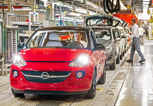 Der Opel Adam 1.4 LPG Ecoflex wird als Komplettlösung ab Werk in Eisenach produziert.