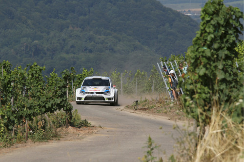 Deutschland-Rallye 2013:Jari-Matti Latvala im Polo R WRC.