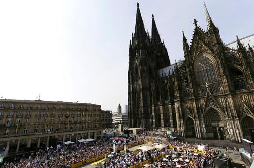 Deutschland-Rallye 2013: Start in Köln.