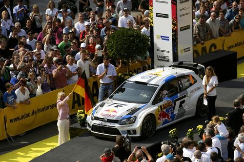 Deutschland-Rallye 2013: Sebastian Ogier.